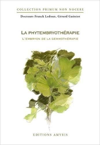 phytembryothérapie